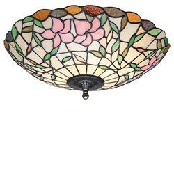 Nostalgia Design Hibiskus P08-40 Plafond Tiffany 40Cm