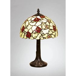 Nostalgia Design Vildros B83-25 Bordslampa Tiffany 25Cm