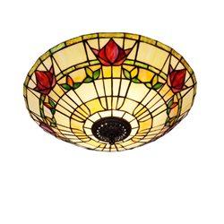 Nostalgia Design Fuchsia P99-45 Plafond Tiffany 45Cm