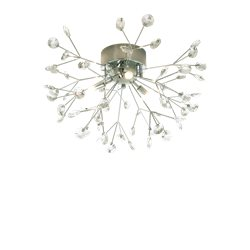 Aneta Belysning Viva Plafond Krom/Kristall