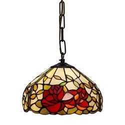 Nostalgia Design Rosor T17-25 Taklampa Tiffany 25Cm