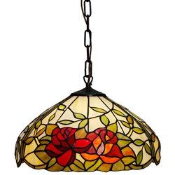 Nostalgia Design Rosor T17-40 Taklampa Tiffany 40Cm