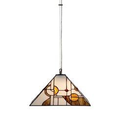Nostalgia Design Mondo T96-40 Taklampa Tiffany 40Cm Med Wire