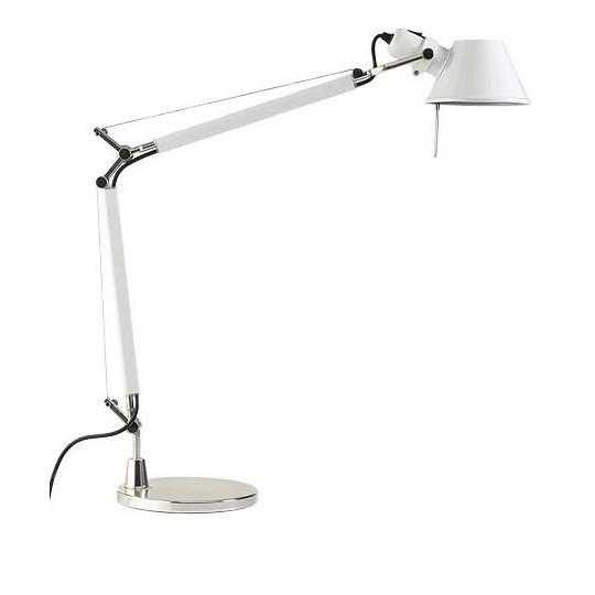 Artemide Tolomeo Mini Bordslampa Vit Inkl. Bordsfot