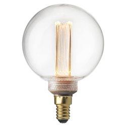 Pr Home Glob Led Filament 95Mm Dim Klar 2,3W E14 Future