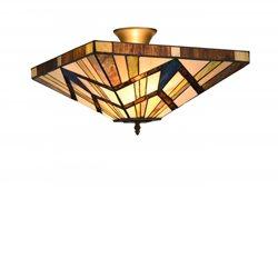 Norrsken Design Square P164239 Plafond Fyrkantig Tiffany 41Cm