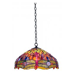 Norrsken Design Trollslända Harmoni T162825 Taklampa Tiffany