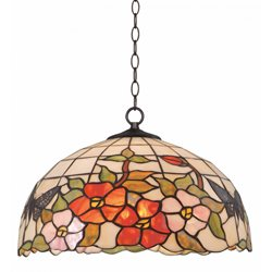 Norrsken Design Sommar T163097 Taklampa Tiffany 41Cm