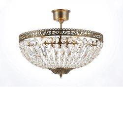 Norrsken Design Classic Kristallplafond Antik Mellan