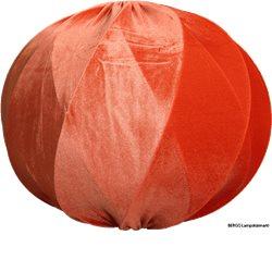 Bergo Ball Criss Cross Skärm 48Cm Orange Sammet Exkl Upphäng