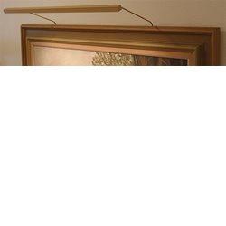 Blp-Listen Tavelbelysning 117 Standard Led 2700K 25Cm Guld Inkl Plug-In Drivdon