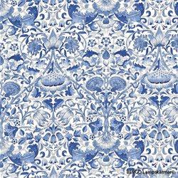 Bergo Lampskärm Sixten 17 Lodden China Blue Klo E14