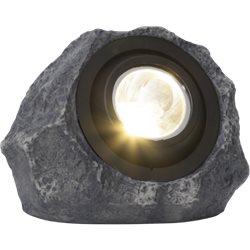 Star Trading Solcellsdekoration Rocky Sten Ip44 Varmvit