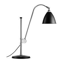 Gubi BL1 Bordslampa Svart/Krom