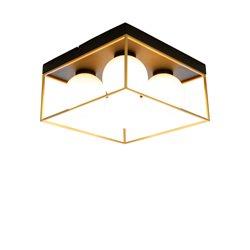 Scan Lamps Astro Plafond Liten Svart/Guld/Opal