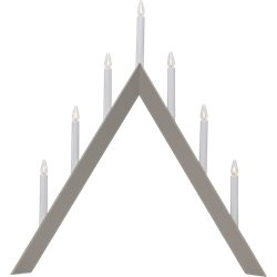 Star Trading Arrow Ljusstake Grå