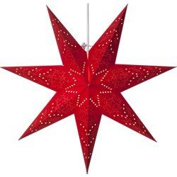 Star Trading Stjärna Sensy Röd 54Cm Inkl. Upphäng