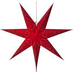 Star Trading Stjärna Sensy Röd 70Cm Inkl. Upphäng