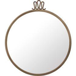 Gubi Randaccio Wall Mirror - Rund Mässing