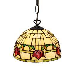 Nostalgia Design Fuchsia T99-25 Taklampa Tiffany 25Cm