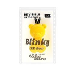 Save Lives Now Blinky Led Bear Gul