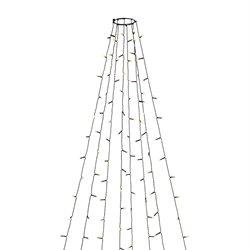 Konstsmide Julgransslinga 400 Led Amber Ip44 4M
