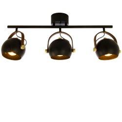Scan Lamps BOW takspot, svart
