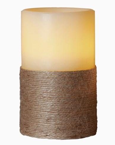 Star Trading LED Vokslys Rope 125mm. Hvit
