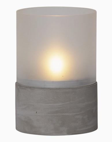 Star Trading Cementlykta med LED. 064-86
