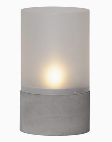 Star Trading Cementlykta med LED. 064-87