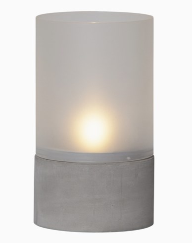 Star Trading Sement-lykt med LED. 064-87