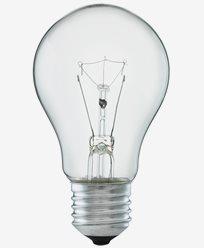 Glødepære 100W E27 Klar