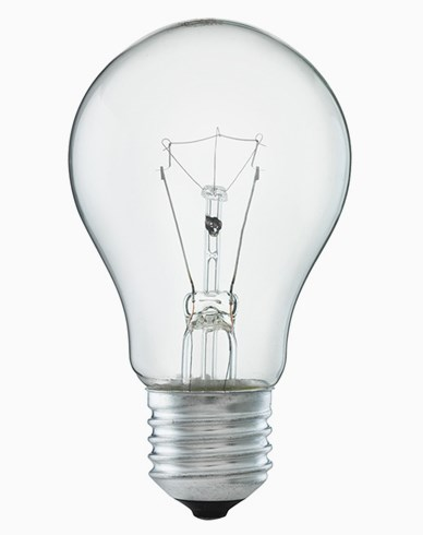 Glödlampa 100W E27 Klar