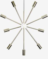 Star Trading PIX Metallstjerna i messing. 3,5 meter kabel med støpsel