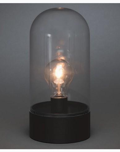 Konstsmide B/O Lanterna, utskiftbar LED, utendørs. Timer 6H 2xC