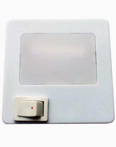 Unison 1W. Nattlampa med strömbrytare