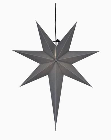 Star Trading OZEN stjerne, grå. E14 55x65cm