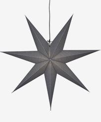 Star Trading OZEN stjerne, grå. E14 70x70cm