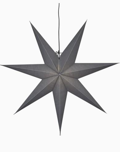 Star Trading OZEN stjärna, grå. E14 70x70cm