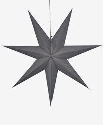Star Trading OZEN stjärna, grå. E14 100x100cm