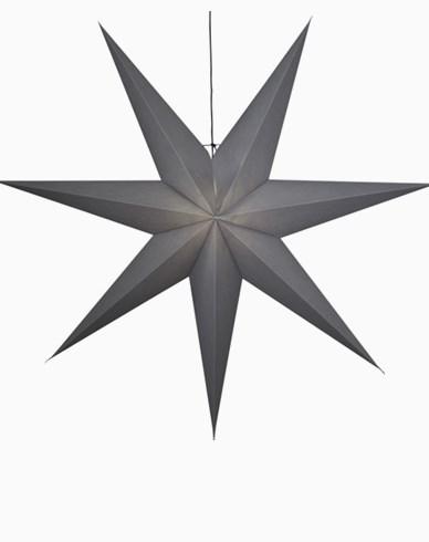 Star Trading OZEN stjerne, grå. E27 140x140cm