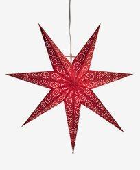 Star Trading Antique stjerne, rød