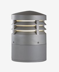 Maxel Sokkellampe ZÜRICH H.250 grå E27