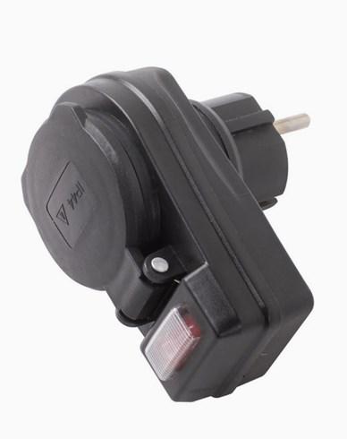 Airam Uttag med strömbrytare ON/OFF. IP44