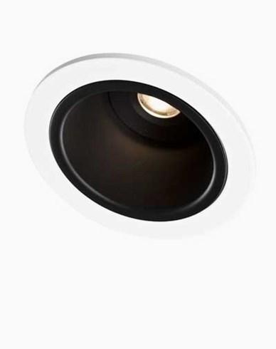 MAXEL - PLUTO Deep 3W 700mA 20gr 3000K svart LED-Downlight 230V