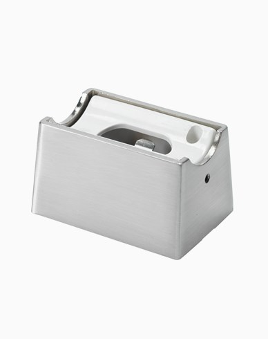Unison Linestra sockel matt krom 1-pol S14D