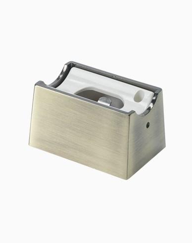 Unison Linestra sockel matt mässing 1-pol S14D