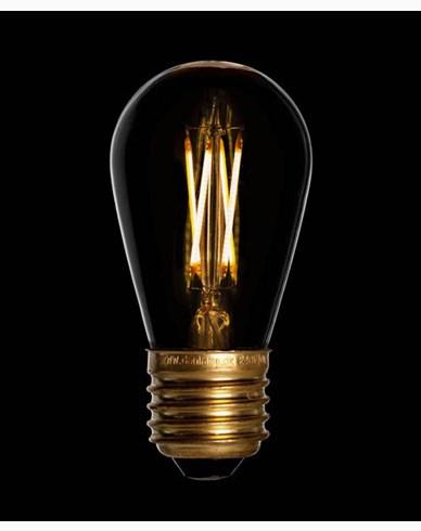 Danlamp LEDpære Mini Edison E27 2,5W/2200K Dimbar