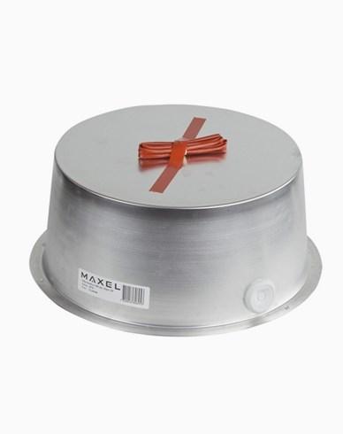 MAXEL Sikkerhetsboks 300 aluminium. Høyde 185mm