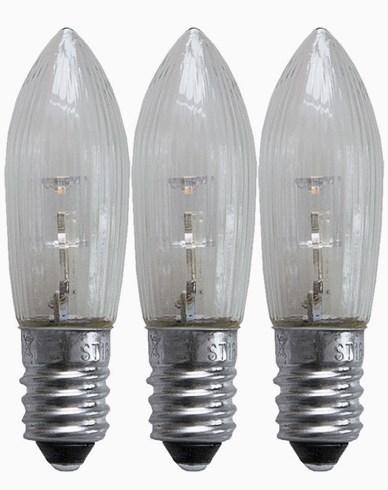 Star Trading Universal LED pærer E10 10-55V. 3-pakk